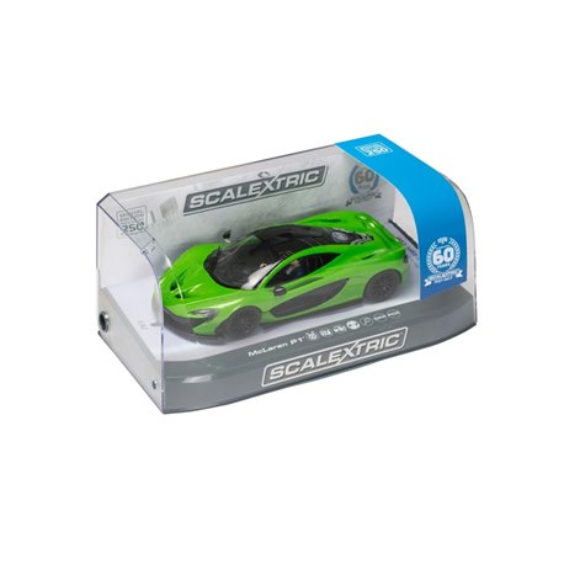 SCALEXTRIC C3756A 60th Anniversary McLaren P1 Green