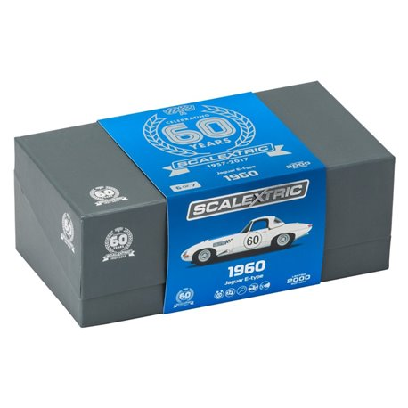 SCALEXTRIC C3826A 60th Anniversary 1960s Jaguar E-Type