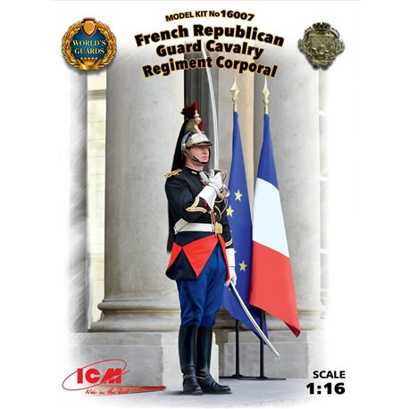 ICM 16007 1/16 French Republican Guard Cavalry Regiment Corporal