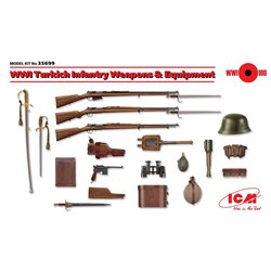 ICM 35699 1/35 WWI Turkich Infantry Weapons & Equipment