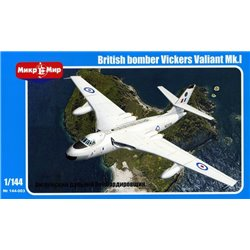 MikroMir 144-003 1/144 Vickers Valiant Mk.I