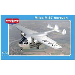 MikroMir 72-011 1/72 Miles M.57 Aerovan