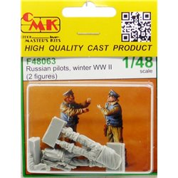 CMK F48063 1/48 Russian Pilots – Winter WW II