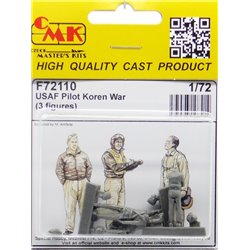 CMK F72110 1/72 Pilots Korean War 3 fig