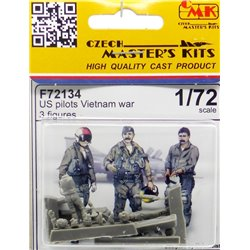 CMK F72134 1/72 US pilots Vietnam War 3 fig