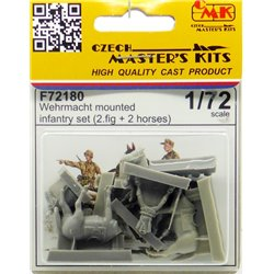 CMK F72180 1/72 Wehrmacht Mounted Infantry Set