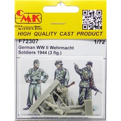 CMK F72307 1/72 German WW II Wehrmacht Soldiers 1944