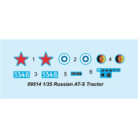 Trumpeter 09514 1/35 Russian AT-S Tractor