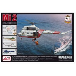 Aeroplast 90035 1/48 Mi-2 Smiglowiec morski