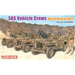 DRAGON 6682 1/35 SAS Vehicle Crews North Africa 1942