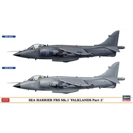 HASEGAWA 02253 1/72 Sea Harrier FRS Mk.1 'Falklands Part 2'