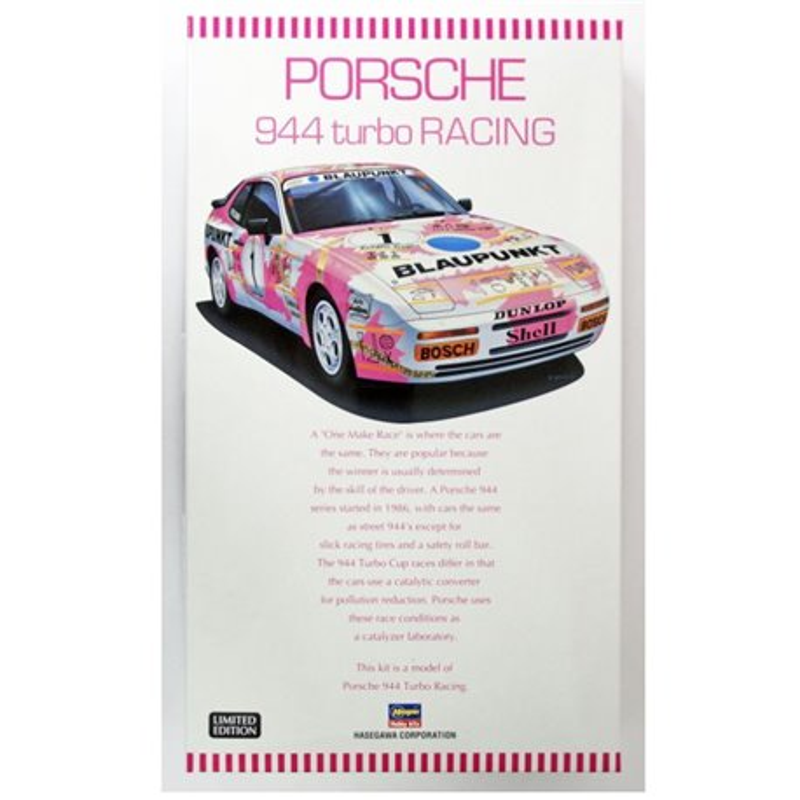 HASEGAWA 20315 1/24 Porsche 944 Turbo Racing Limited Edition