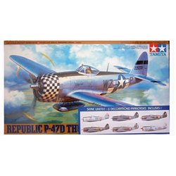 Tamiya 61090F 1/48 Republic P-47D Thunderbolt Série Limitée