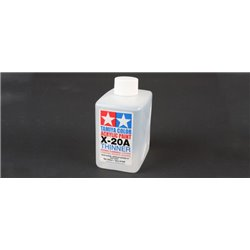 Tamiya 81040 X-20A Thinner For Acrylic Paint 250ml