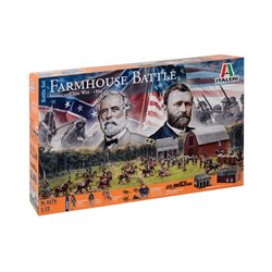ITALERI 6179 1/72 Farmhouse Battle American Civil War – 1864