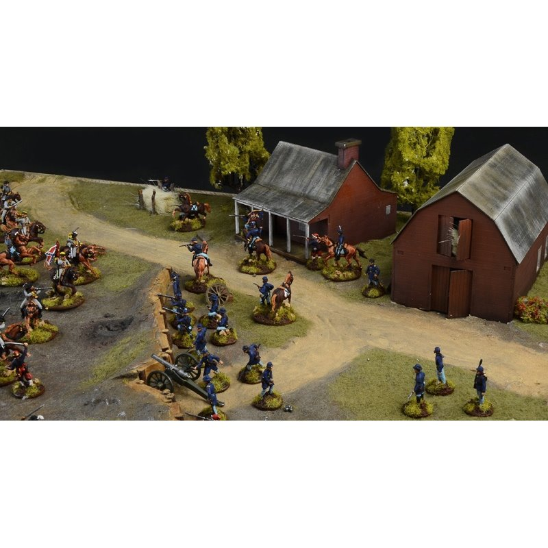 ITALERI 6179 1/72 Farmhouse Battle American Civil War