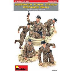 MINIART 35252 1/35 GERMAN TANK CREW (FRANCE 1944) SPECIAL EDITION