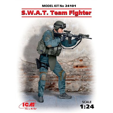 ICM 24101 1/24 S.W.A.T. Team Fighter
