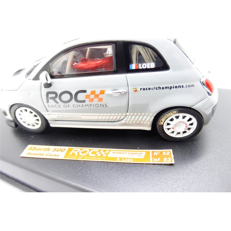 Racer Slot Cars Abarth 500 Asseto Corse Loeb Limited Edtion