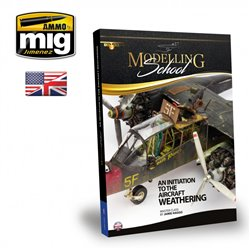 AMMO OF MIG A.MIG-6030 MODELLING SCHOOL: AN INITIATION TO AIRCRAFT WEATHERING