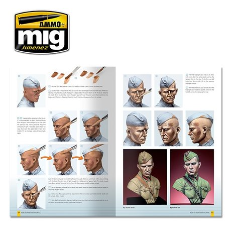 AMMO OF MIG A.MIG-6042 MODELLING GUIDE: COMMENT PEINDRE AUX ACRYLIQUES
