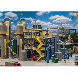 Faller 130175 HO 1/87 Usine chimique - Chemical plant