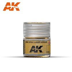 AK Interactive RC040 BSC N°61 Pierre Clair - Light Stone 10ml