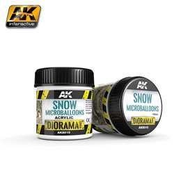AK Interactive AK8010 Snow Flocons - Microballoons 10ml