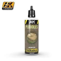 AK Interactive AK8028 Flaque d'Eau - Puddles 60ml