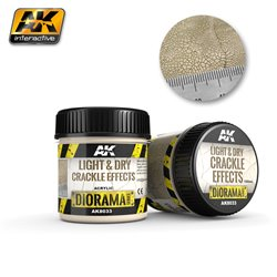 AK Interactive AK8033 Light and Dry Crackle Effects 100ml