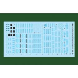 AK Interactive AK2300 SOVIET AIRCRAFT COLORS 1950-1970 6x17ml