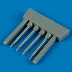 AK Interactive AK3001 PANZER CREW BLACK UNIFORMS SET 5x17ml