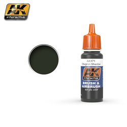 AK Interactive AK171 Olivgrün Shadow 17ml