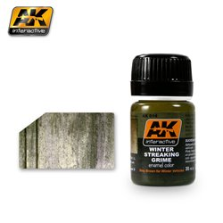AK Interactive AK014 STREAKING GRIME FOR WINTER VEHICLES 35ml