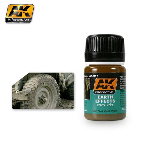 AK Interactive AK017 EARTH EFFECTS 35ml
