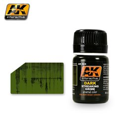 AK Interactive AK024 STREAKING GRIME FOR DARK VEHICLES 35ml