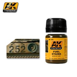 AK Interactive AK025 FUEL STAINS 35ml