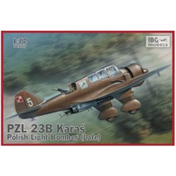 IBG Models 72507 1/72 PZL 23B Karaś (late) Polish Light Bomber