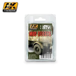 AK Interactive AK061 MUD EFFECTS SET 3x35ml
