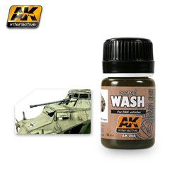 AK Interactive AK066 WASH FOR AFRIKA KORPS VEHICLES 35ml