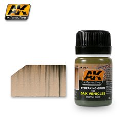 AK Interactive AK067 STREAKING GRIME FOR AFRIKA KORPS VEHICLES 35ml