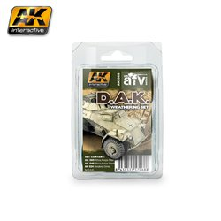 AK Interactive AK068 AFRIKA KORPS WEATHERING SET 3x35ml
