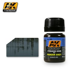 AK Interactive AK069 STREAKING GRIME FOR PANZER GREY VEHICLES 35ml