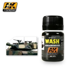 AK Interactive AK075 WASH FOR NATO VEHICLES 35ml