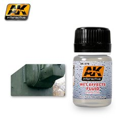 AK Interactive AK079 WET EFFECTS FLUID 35ml