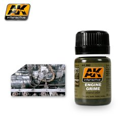 AK Interactive AK082 ENGINE GRIME 35ml