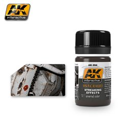 AK Interactive AK094 INTERIOR STREAKING GRIME 35ml