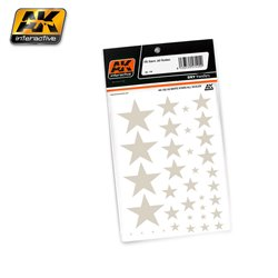AK Interactive AK102 Decals US STARS ALL SCALES