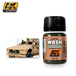 AK Interactive AK121 WASH FOR OIF & OEF - US VEHICLES 35ml