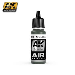 AK Interactive AK2018 Gris Vert - Grey Green 17ml